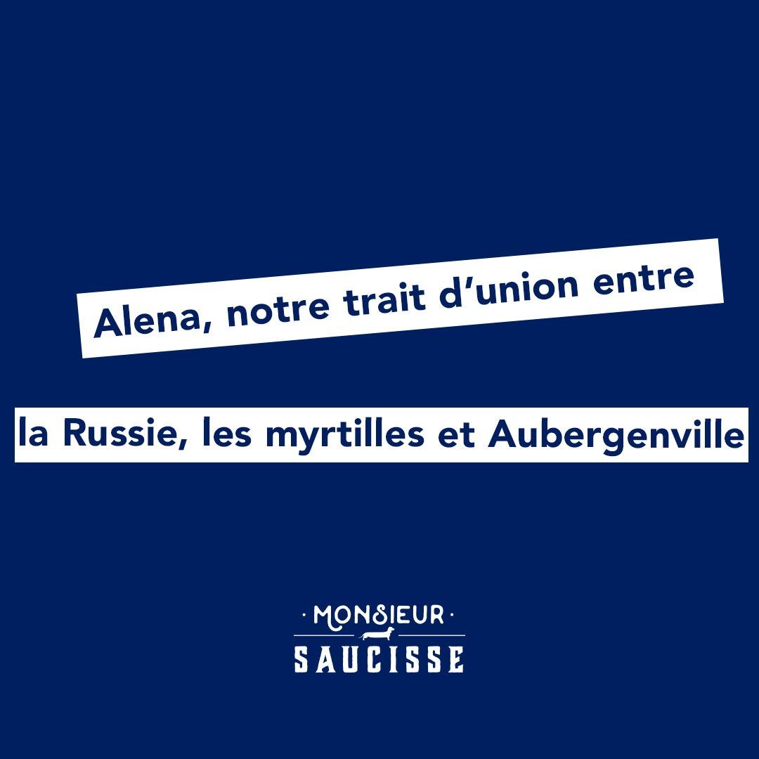 Alena, notre trait d'union entre la Russie, les myrtilles et Aubergenville