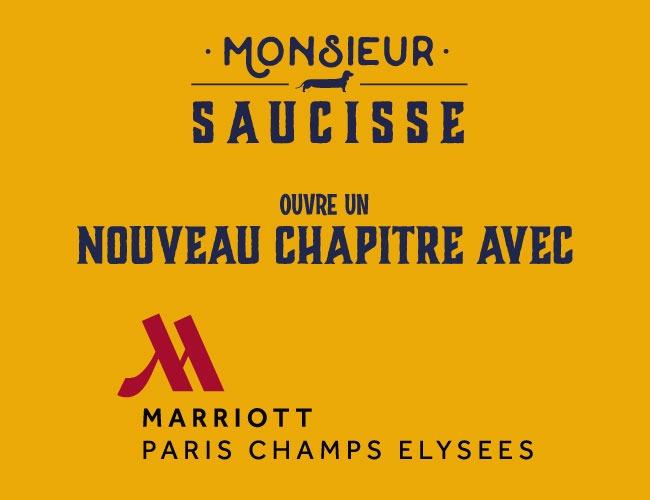 Un chapitre s'ouvre avec… le Marriott des Champs Élysées